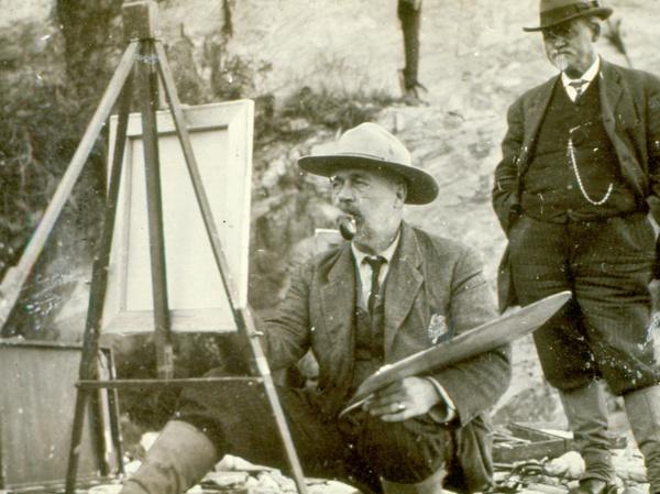 The Paintings of John Calvin Stevens