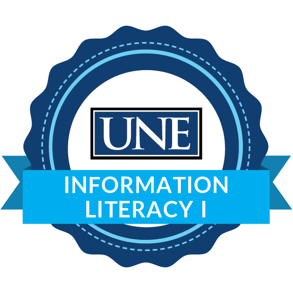 Information Literacy Digital Badge