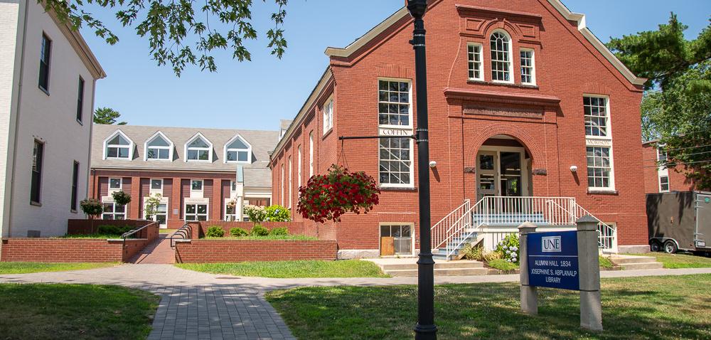 Portland Campus Library exterior view