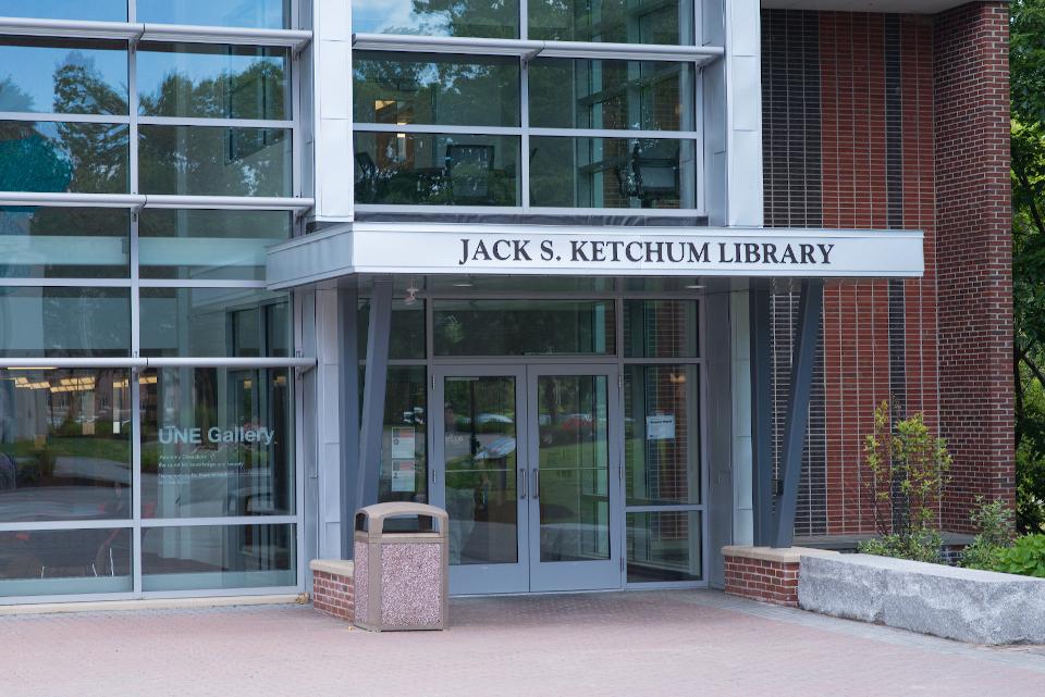 Ketchum Library entrance